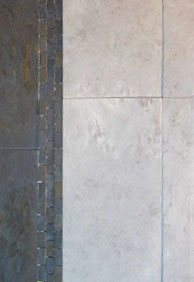 Porcelain tiles have the lowest water absorbtion factor of all tiles