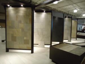 patio tile showroom
