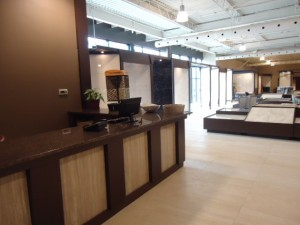 Montreal tile showroom