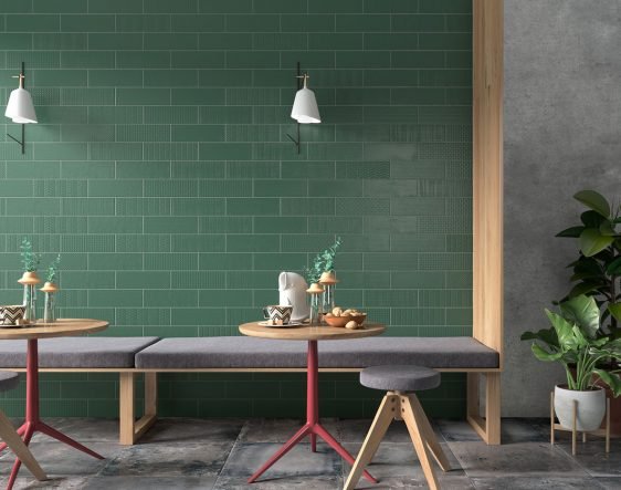 Soho Green matte Decor